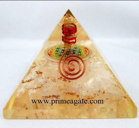Orgone-Selenite-Pyramid-With-Chakra-Flower-Of-Life