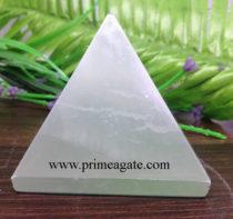 Selenite-Pyramids