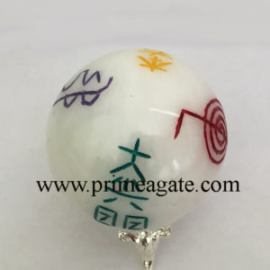 white-agate-colorful-usai-reiki-sphere