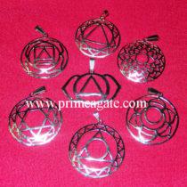 chakra-sign-metal-pendant-set