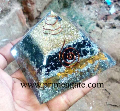 orgone-black-tourmaline-tiger-eye-aluminium-layered-pyramid-with-crystal-point