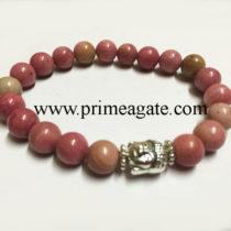 rhodocrosite-stretchable-buddha-bracelet