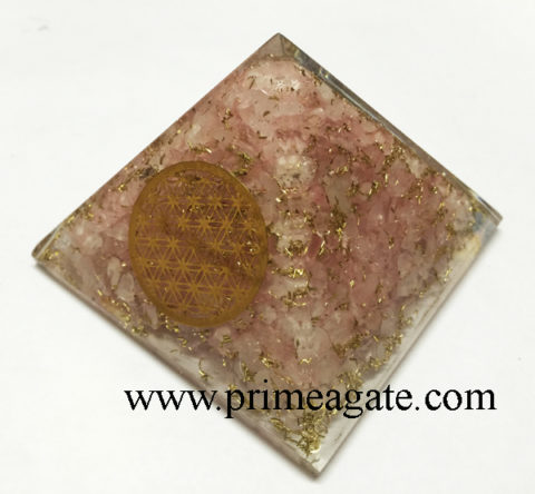 rose-quartz-orgonite-metal-flower-of-life-pyramid