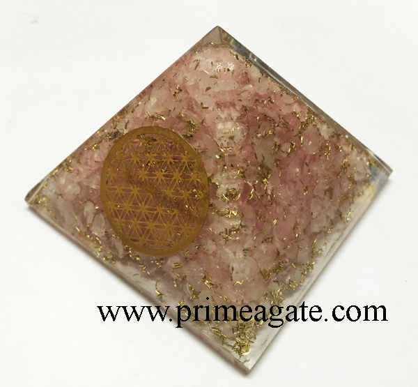 rose-quartz-orgonite-metal-flower-of-life-pyramid