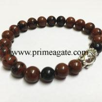 mahogany-obsidian-stretchable-buddha-bracelet
