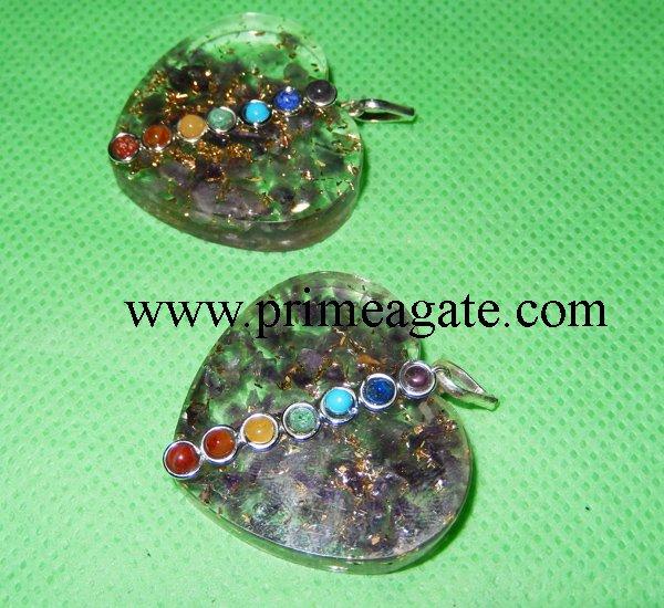 chakra-amethyst-heart-shape-orgone-pendants