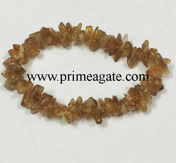 citrine-chips-stretchable-bracelet