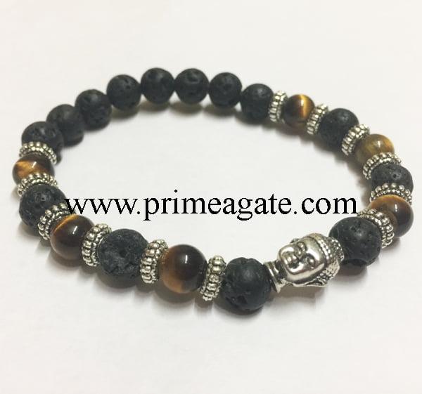 tiger-eye-black-lava-combo-buddha-bracelet