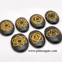 black-agate-oval-shape-chakra-set
