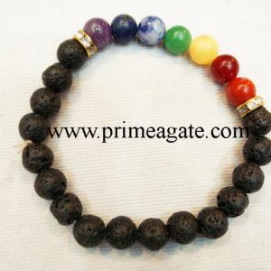 chakra-stones-black-lava-stones-stretchable-bracchakra-stones-black-lava-stones-stretchable-bracelet