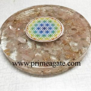 Orgone-Rose-Quartz-Chakra-Flower-Of-Life-Coaster