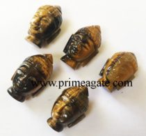 tiger-eye-buddha-head