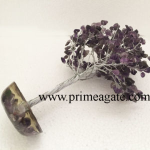 Amethyst-300Bds-Gemstone-SilverWire-Tree-With-Orgone-Base