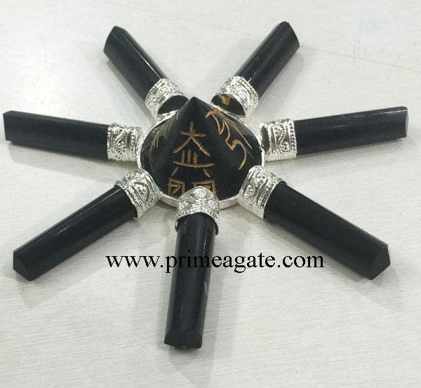 Black-Tourmaline-Usai-Reiki-Antenna-Energy-Generator