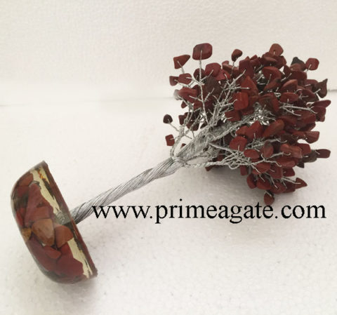 Red-jasper-300Bds-Gemstone-SilverWire-Tree-With-Orgone-Base