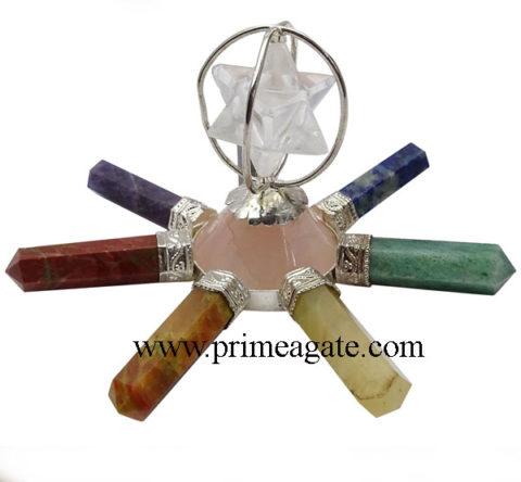 Chakra-Energy-Generator-With-Rose-Quartz-Antenna-Crystal-Quartz-Merkaba-Star