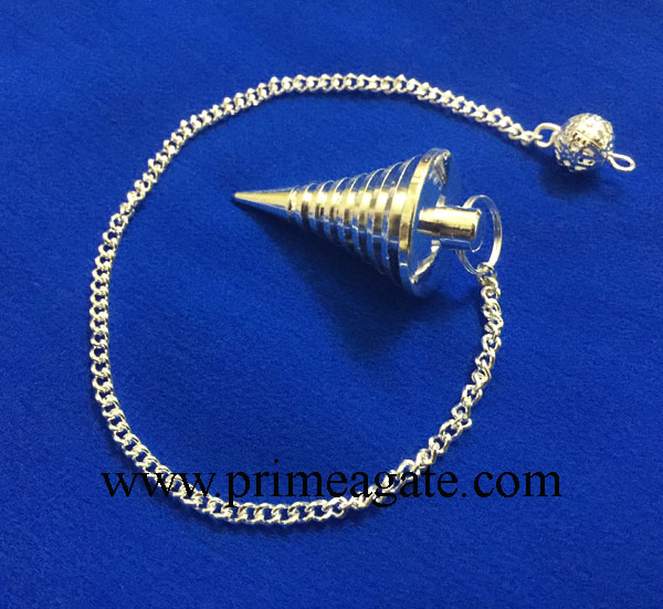 Silver-Hard-Coil-Metal-Pendulum