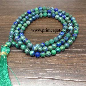Chrysocolla-108-Beads-Jap-Mala