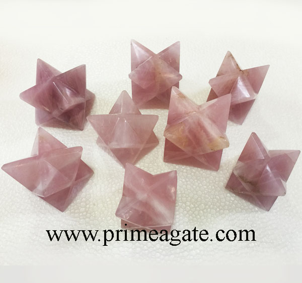 Rose-Quartz-Big-Size-Merkaba-Stars