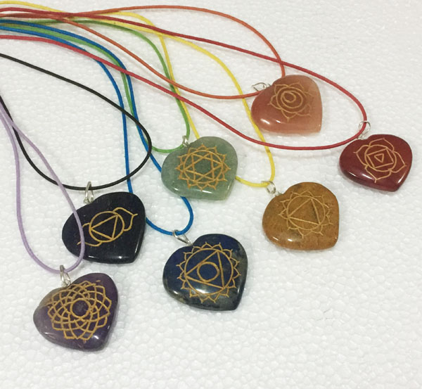Chakra-Heart-Engraved-Set-With-Colorful-Cords - Copy
