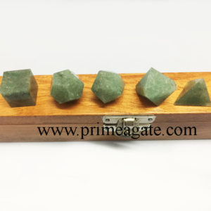 Green-Aventurine-5Pc-Geometry-Set