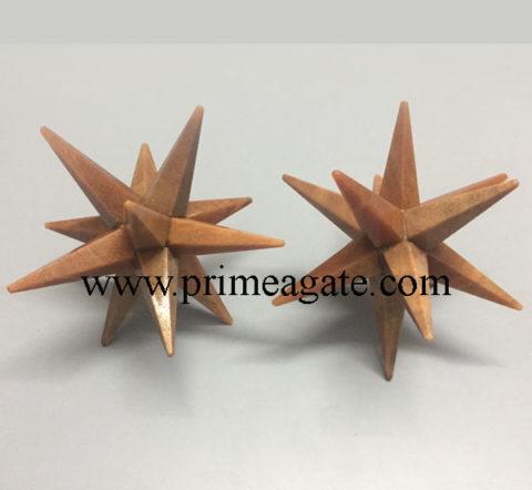Peach-Aventurine-12points-Star