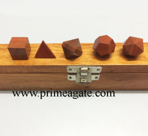 Red-Jasper-5Pc-Geometry-Set-With-Wooden-Box