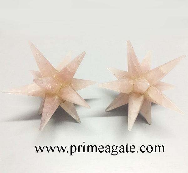 Rose-Quartz-12Points-Star