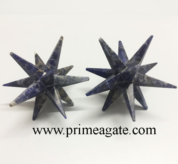 Sodalite-12-Points-Star