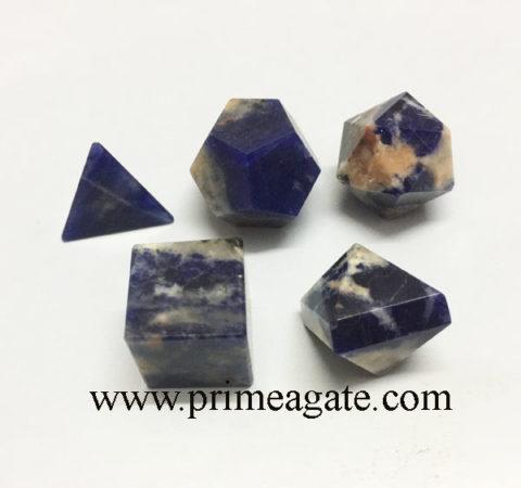 Sodalite-5pc-Geometry-Set
