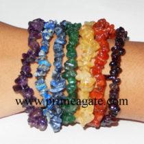 Chakra-chips-bracelet-set