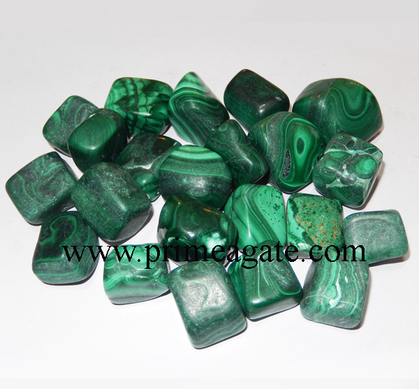 Malachite-Tumble-Stones