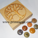 Tree Of Life Box With Chakra Disc Set