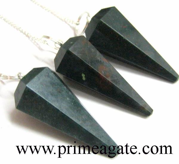 Blood-stone-pendulums