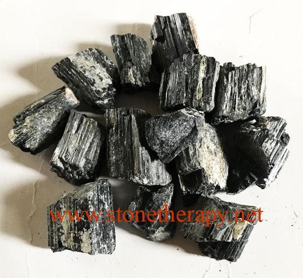 Black Tourmaline Raw Stones