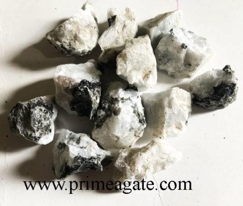Rainbow Moonstone Raw Stones