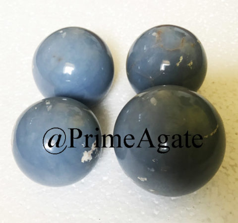 Angelite Spheres