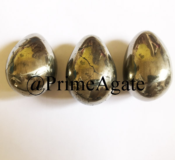 Golden Pyrite Eggs