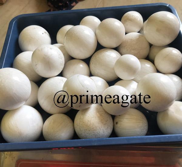 Scolecite Spheres