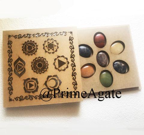 Chakra Worry Stone Set